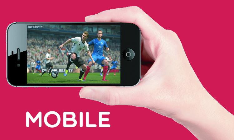 Konami anuncia PES 2017 Mobile | TierraGamer