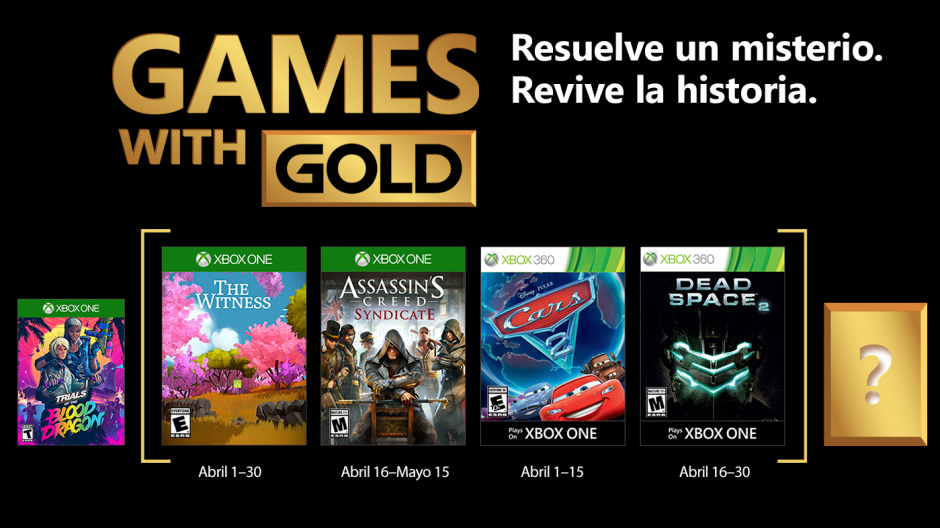Los Juegos Gratuitos De Games With Gold Para Abril 2018 Tierragamer