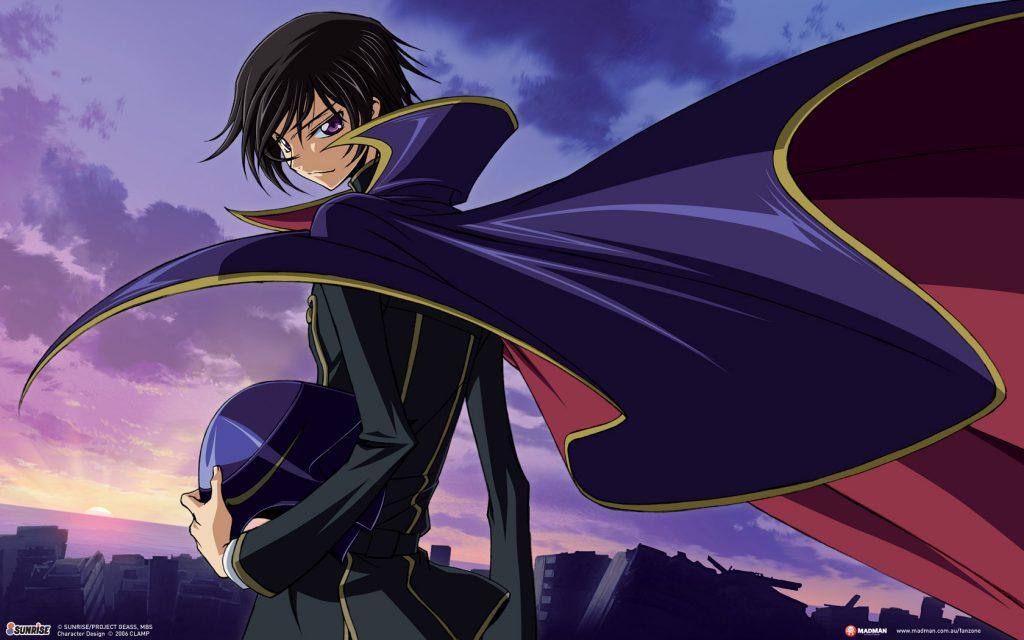 Animes en Netflix: Code Geass: Lelouch of the Rebellion