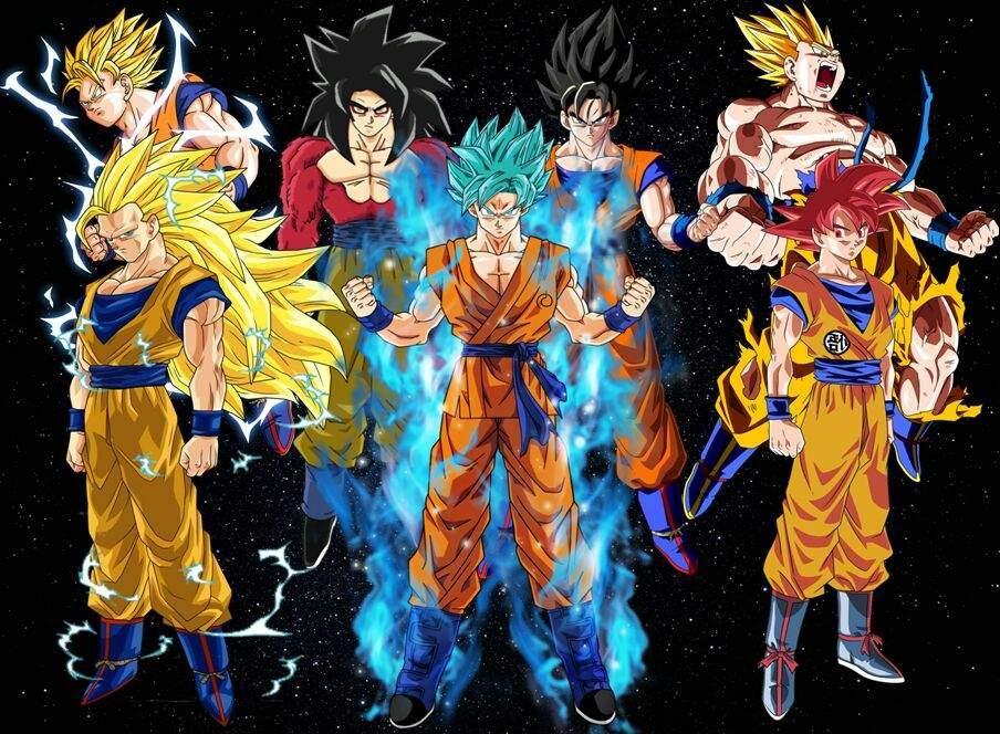 Cuál Es La Mejor Transformación De Goku Tierragamer