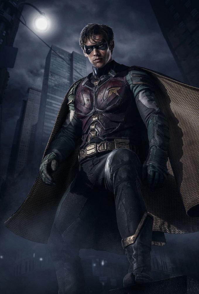 Así se ve Robin en la serie live-action de Titans