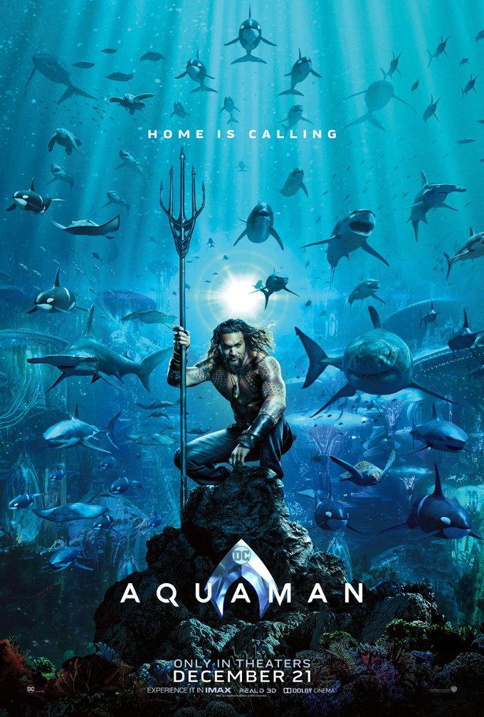 Un vistazo anticipado al tráiler de Aquaman