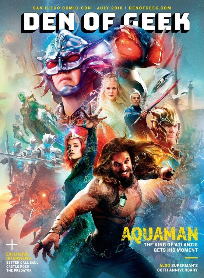 Un vistazo a los personajes de Aquaman
