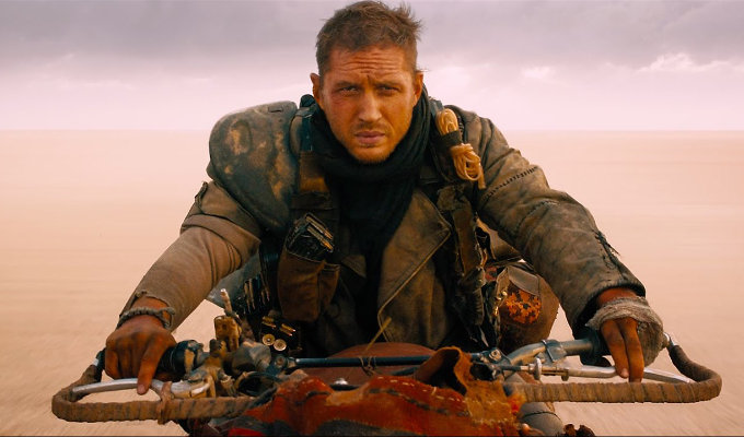 Tom Hardy en Mad Max