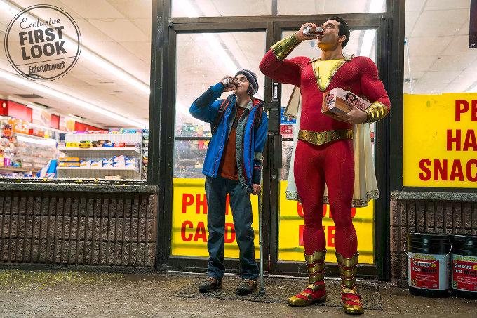 Primera imagen de la película de Shazam!