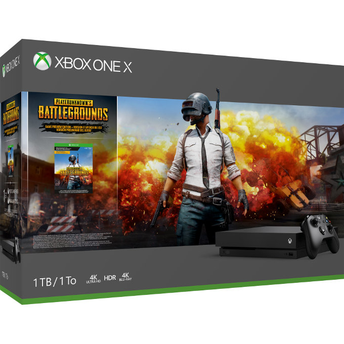 Xbox One consigue nuevos paquetes de PUBG y Minecraft