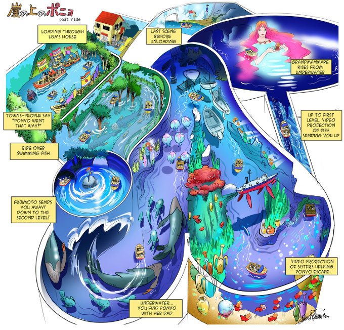 ¿Qué tal el parque de Studio Ghibli con algo de Disney?