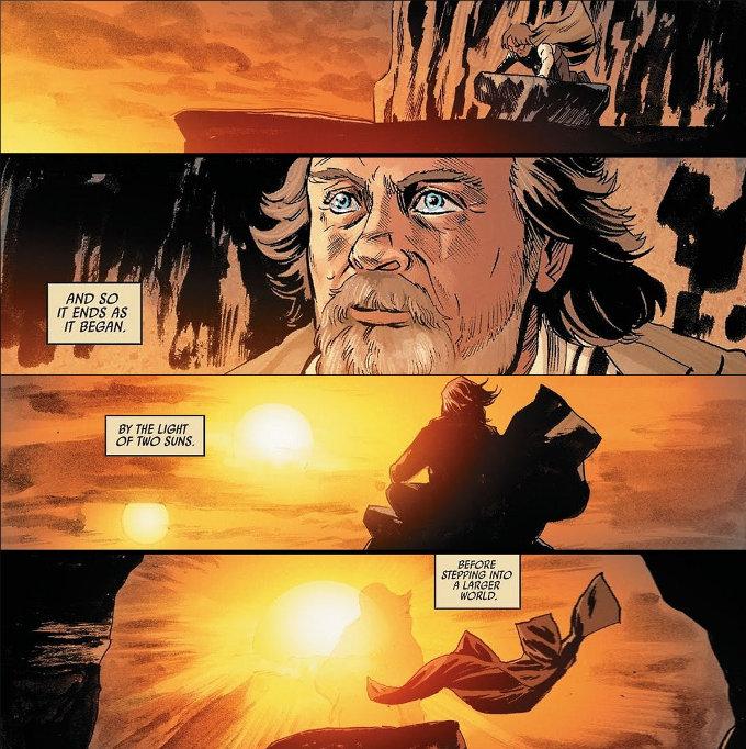 ¿Qué pasó por la mente de Luke en Star Wars: The Last Jedi?
