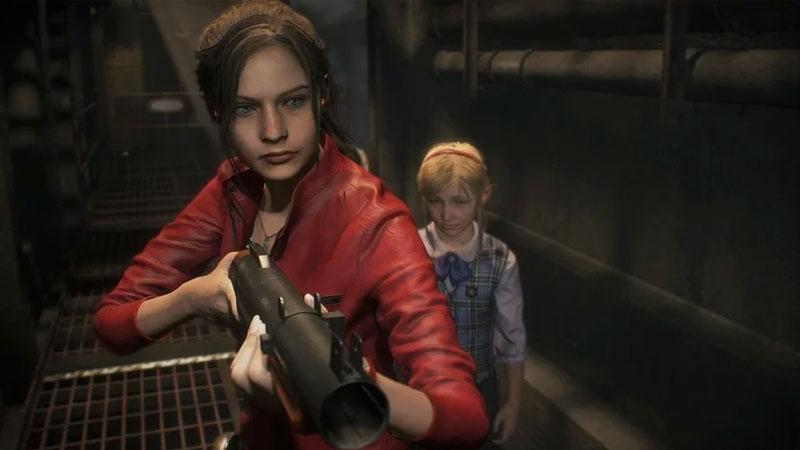 Claire Redfield Resident Evil 2, uno de los mejores juegos de 2019