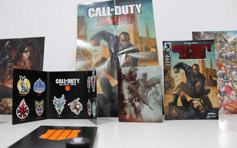 Unboxing: Call of Duty: Black Ops 4 - Mistery Box Edition