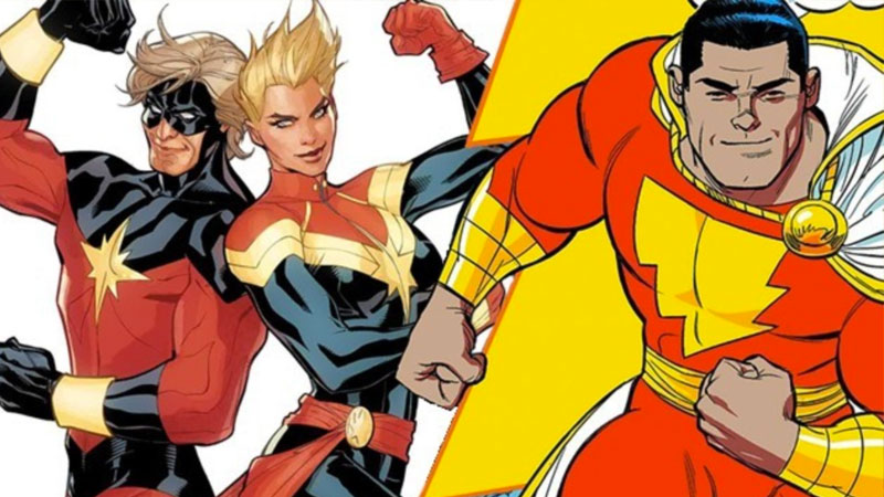 Shazam! and Captain Marvel