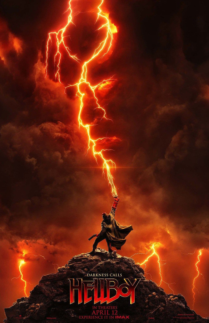 Nuevos y espectaculares pósteres de Hellboy