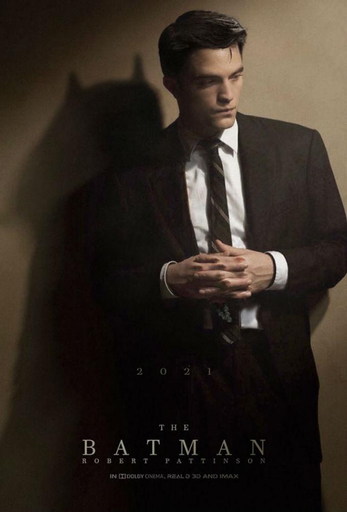 BossLogic imaginó un poster con Robert Pattinson como Batman
