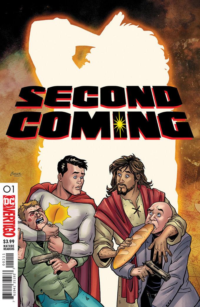 DC cancelará los extraños cómics de Jesucristo