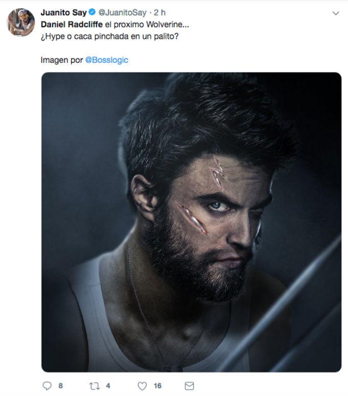 Daniel Radcliffe Wolverine BossLogic