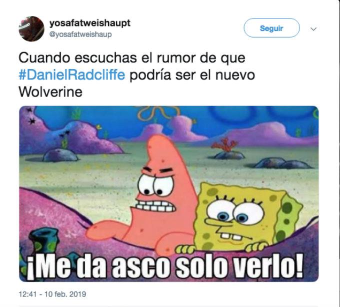 Daniel Radcliffe Wolverine Memes
