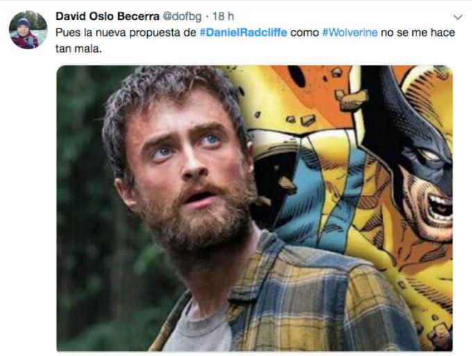Daniel Radcliffe Wolverine reacciones