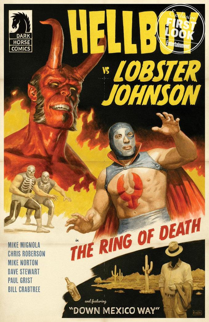 ¡Mucha Lucha con Hellboy de regreso a México!