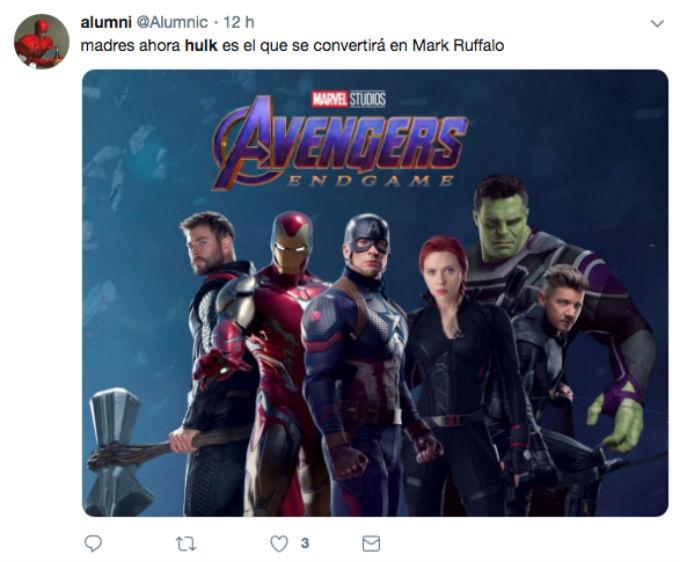 Hulk se convirtió en Mark Ruffalo.