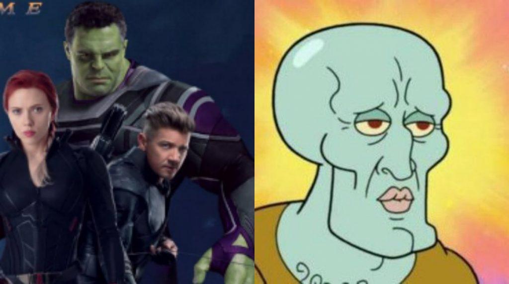 Hulk se volvió Calamardo guapo