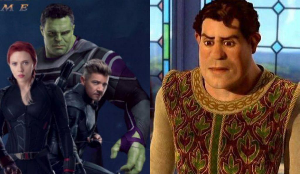Hulk también se parece a Shrek.