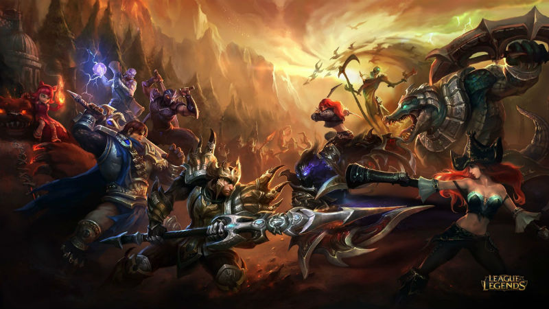 League of Legends MMO
