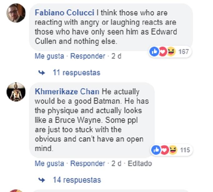 Reacciones por el poster de Robert Pattinson como Batman