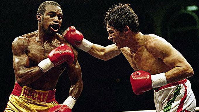 Rocky Lockridge contra Julio Cesar Chavez.