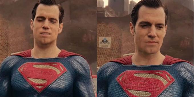 Como olvidar el retoque de superman en Justice League.