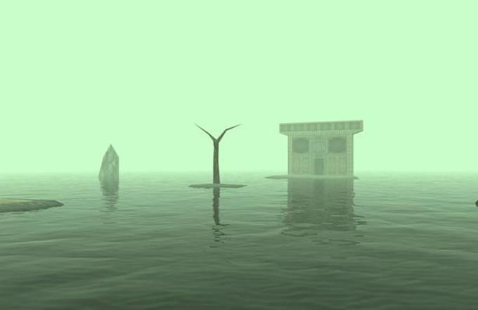 Templo del agua en Ocarina of Time