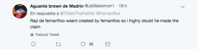 Fernanfloo y TheFatRat están en controversia por los derechos de una canción