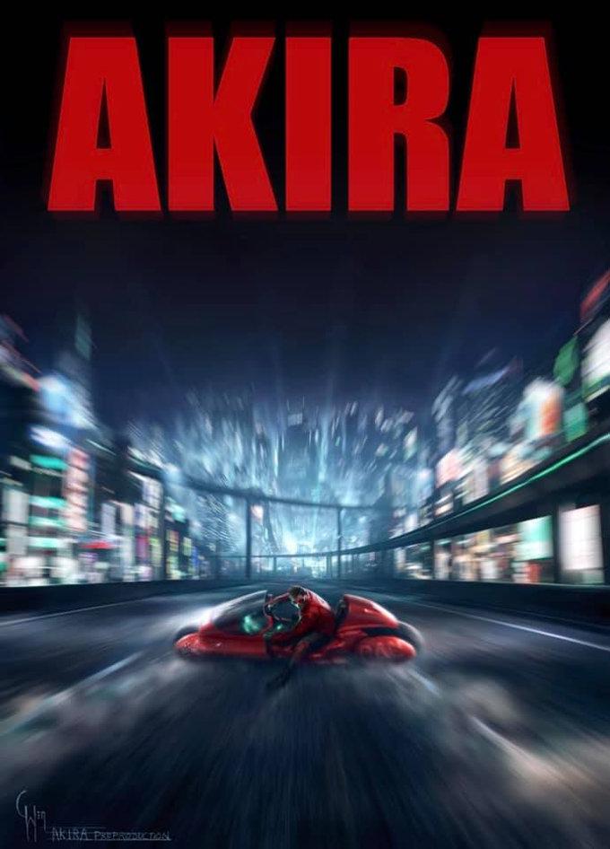 'Akira': Revelan póster de la adaptación live-action con Leonardo DiCaprio