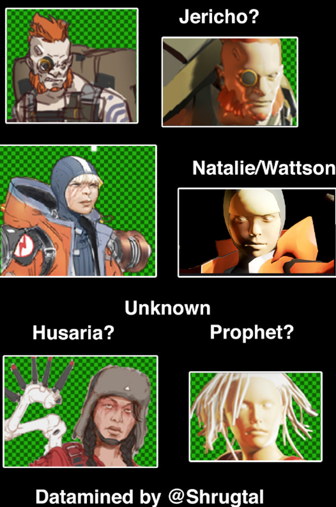 Apex Legends Nuevos Personajes