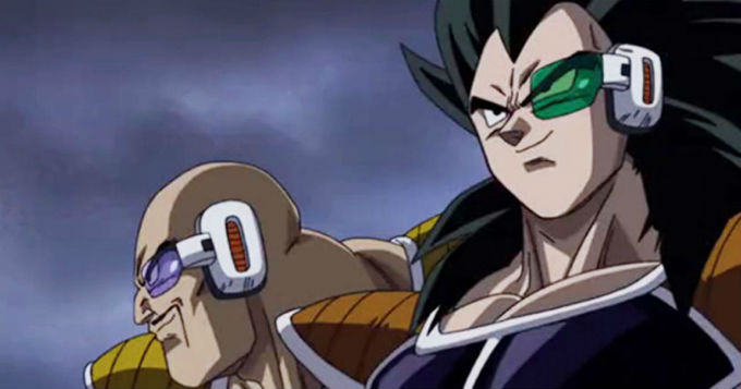 Dragon Ball Super Broly Nappa Raditz