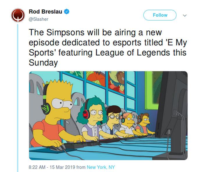 El regreso del niño rata: Los Simpson tendrán un episodio de League of Legends