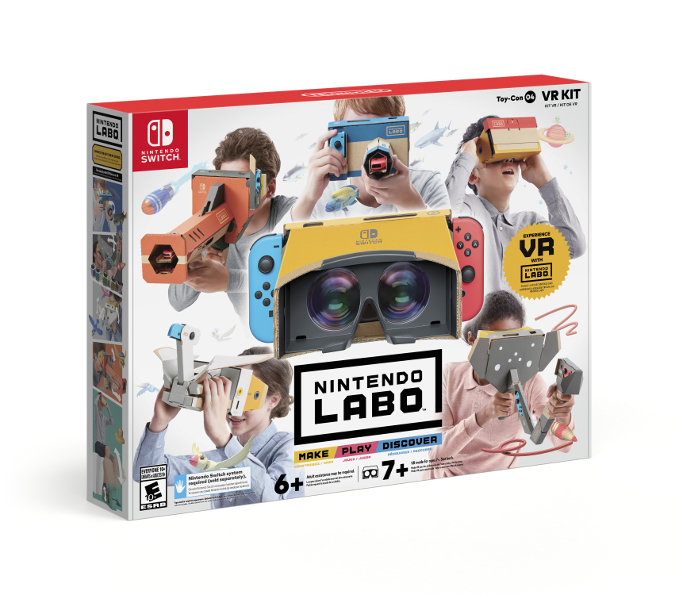 Nintendo Labo entra al VR - con cartón podría ser la opción más económica