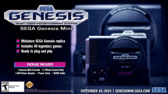 ¿Le irá tan mal como a PlayStation? SEGA lanzará el Genesis Mini este año
