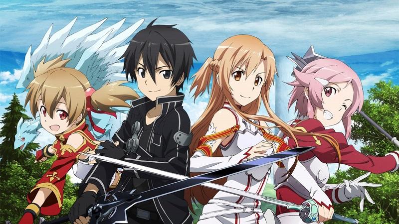 Animes en Netflix: Sword Art Online