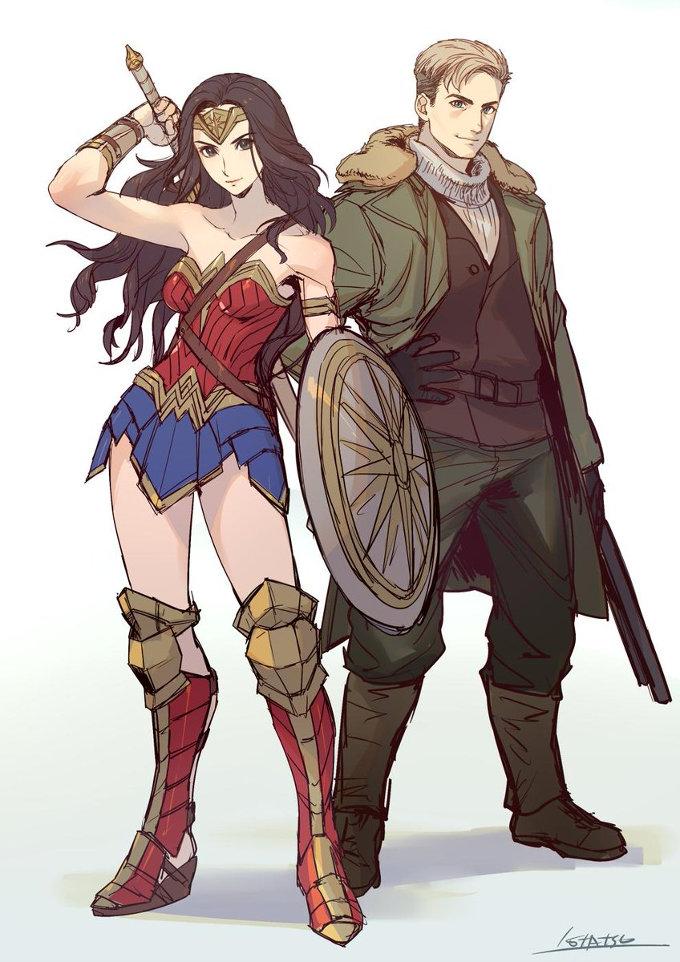 Wonder Woman se convirtió en un increíble anime
