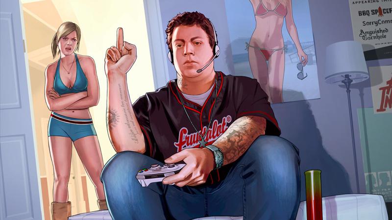 GTA V es considerado un videojuego violento