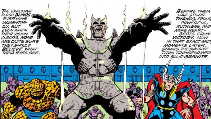 Adam Warlock Derrotó a Thanos