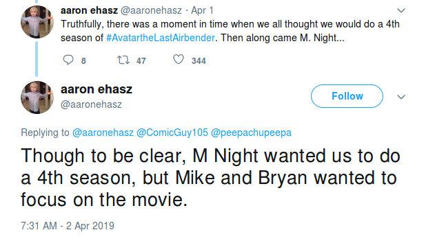 Por culpa de la película, Avatar solo tuvo tres temporadas