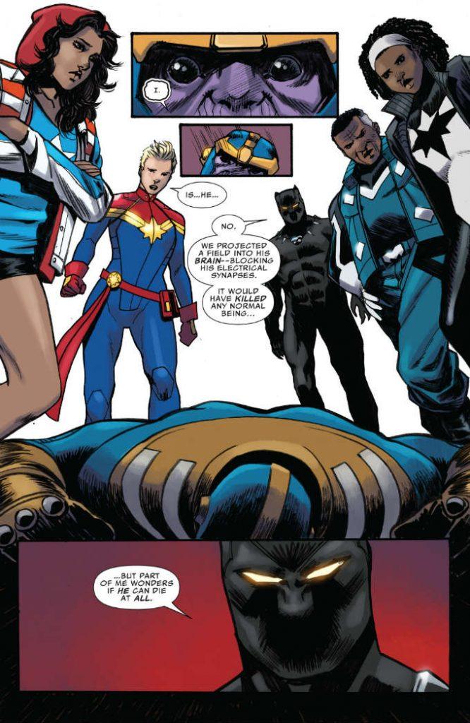 Black Panther Derrotó a Thanos