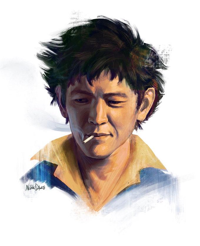 Así se ve John Cho como Spike de Cowboy Bebop