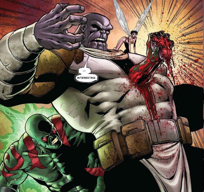 Drax Derrotó a Thanos