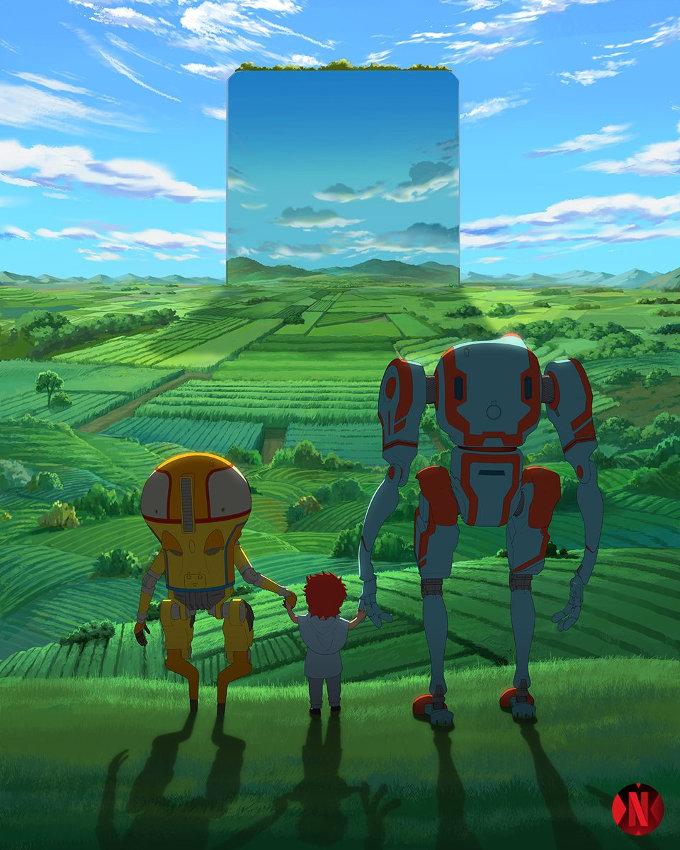 Eden, un nuevo anime de Netflix