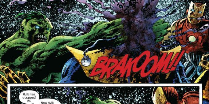 Hulk Derrotó a Thanos