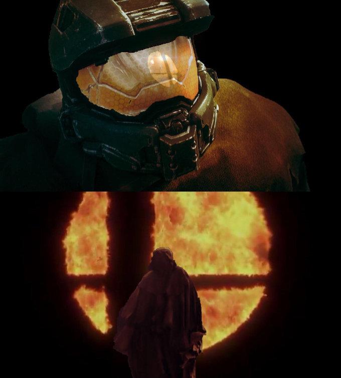 Master Chief podría estar en Super Smash Bros. Ultimate