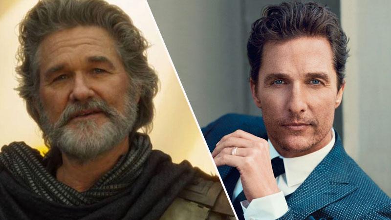 Matthew McConaughey no quiso ser parte de Guardianes de la Galaxia