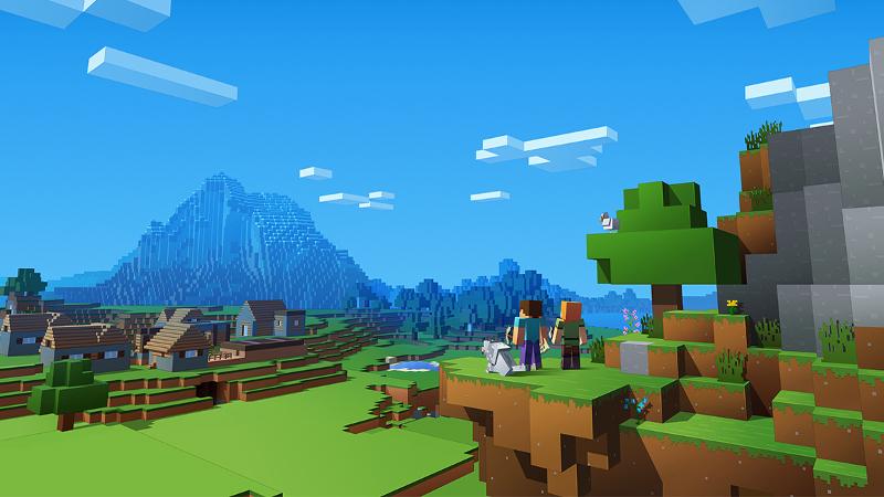 Así se ve Minecraft en la siguiente generación